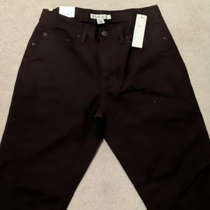 Kenneth Cole Burgendy jeans